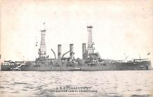mil051572 - Military Battleship Postcard, Old Vintage Antique Military Ship Post Card