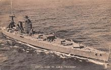 mil051575 - Military Battleship Postcard, Old Vintage Antique Military Ship Post Card