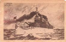 mil051583 - Military Battleship Postcard, Old Vintage Antique Military Ship Post Card