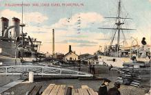 mil051586 - Military Battleship Postcard, Old Vintage Antique Military Ship Post Card
