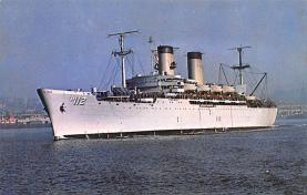 mil051588 - Military Battleship Postcard, Old Vintage Antique Military Ship Post Card