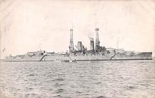 mil051591 - Military Battleship Postcard, Old Vintage Antique Military Ship Post Card