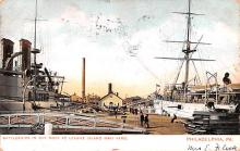 mil051625 - Military Battleship Postcard, Old Vintage Antique Military Ship Post Card
