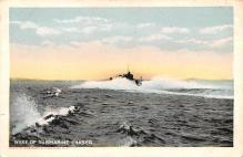 mil051626 - Military Battleship Postcard, Old Vintage Antique Military Ship Post Card