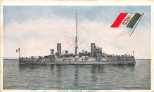 mil051630 - Military Battleship Postcard, Old Vintage Antique Military Ship Post Card