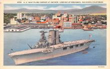 mil051645 - Military Battleship Postcard, Old Vintage Antique Military Ship Post Card