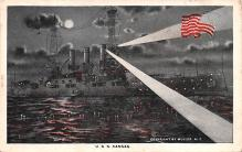 mil051658 - Military Battleship Postcard, Old Vintage Antique Military Ship Post Card