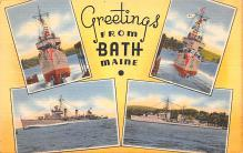 mil051667 - Military Battleship Postcard, Old Vintage Antique Military Ship Post Card