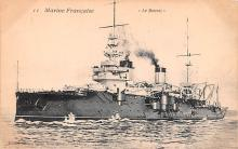mil051670 - Military Battleship Postcard, Old Vintage Antique Military Ship Post Card