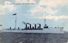mil051672 - Military Battleship Postcard, Old Vintage Antique Military Ship Post Card