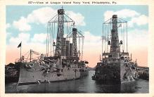 mil051673 - Military Battleship Postcard, Old Vintage Antique Military Ship Post Card