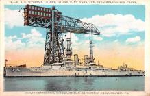 mil051674 - Military Battleship Postcard, Old Vintage Antique Military Ship Post Card