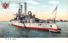 mil051678 - Military Battleship Postcard, Old Vintage Antique Military Ship Post Card