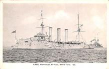 mil051680 - Military Battleship Postcard, Old Vintage Antique Military Ship Post Card
