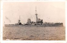 mil051684 - Military Battleship Postcard, Old Vintage Antique Military Ship Post Card