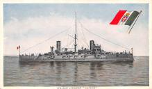 mil051717 - Military Battleship Postcard, Old Vintage Antique Military Ship Post Card