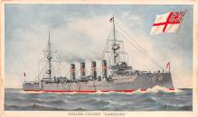 mil051718 - Military Battleship Postcard, Old Vintage Antique Military Ship Post Card