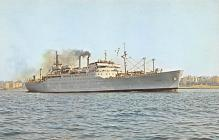 mil051724 - Military Battleship Postcard, Old Vintage Antique Military Ship Post Card
