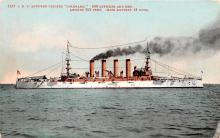 mil051731 - Military Battleship Postcard, Old Vintage Antique Military Ship Post Card