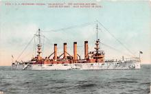mil051732 - Military Battleship Postcard, Old Vintage Antique Military Ship Post Card