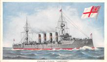 mil051737 - Military Battleship Postcard, Old Vintage Antique Military Ship Post Card