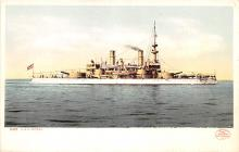 mil051751 - Military Battleship Postcard, Old Vintage Antique Military Ship Post Card