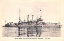 mil051758 - Military Battleship Postcard, Old Vintage Antique Military Ship Post Card