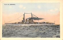 mil051771 - Military Battleship Postcard, Old Vintage Antique Military Ship Post Card