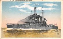 mil051776 - Military Battleship Postcard, Old Vintage Antique Military Ship Post Card