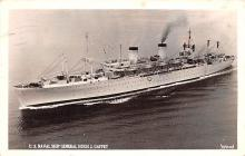 mil051783 - Military Battleship Postcard, Old Vintage Antique Military Ship Post Card