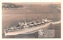 mil051784 - Military Battleship Postcard, Old Vintage Antique Military Ship Post Card