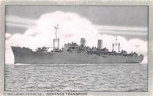 mil051785 - Military Battleship Postcard, Old Vintage Antique Military Ship Post Card