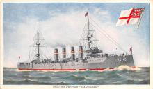 mil051794 - Military Battleship Postcard, Old Vintage Antique Military Ship Post Card