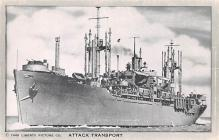 mil051814 - Military Battleship Postcard, Old Vintage Antique Military Ship Post Card