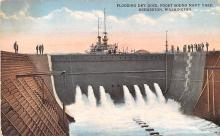 mil051820 - Military Battleship Postcard, Old Vintage Antique Military Ship Post Card