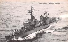 mil051831 - Military Battleship Postcard, Old Vintage Antique Military Ship Post Card