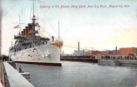 mil051840 - Military Battleship Postcard, Old Vintage Antique Military Ship Post Card