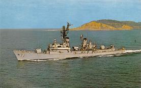 mil051851 - Military Battleship Postcard, Old Vintage Antique Military Ship Post Card