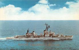 mil051860 - Military Battleship Postcard, Old Vintage Antique Military Ship Post Card