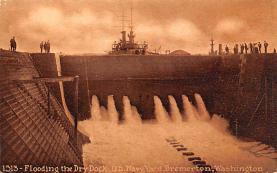 mil051868 - Military Battleship Postcard, Old Vintage Antique Military Ship Post Card