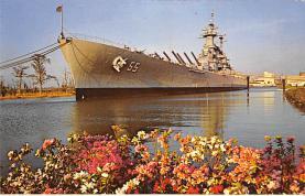 mil051872 - Military Battleship Postcard, Old Vintage Antique Military Ship Post Card