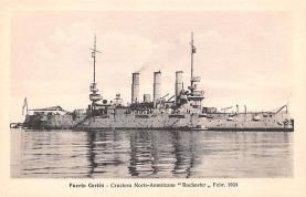 mil051876 - Military Battleship Postcard, Old Vintage Antique Military Ship Post Card