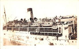 mil051878 - Military Battleship Postcard, Old Vintage Antique Military Ship Post Card
