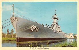 mil051879 - Military Battleship Postcard, Old Vintage Antique Military Ship Post Card