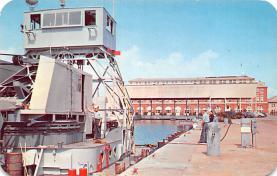 mil051884 - Military Battleship Postcard, Old Vintage Antique Military Ship Post Card