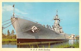 mil051885 - Military Battleship Postcard, Old Vintage Antique Military Ship Post Card