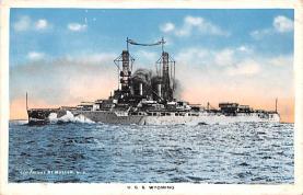 mil051890 - Military Battleship Postcard, Old Vintage Antique Military Ship Post Card