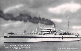 mil051892 - Military Battleship Postcard, Old Vintage Antique Military Ship Post Card