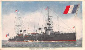 mil051895 - Military Battleship Postcard, Old Vintage Antique Military Ship Post Card