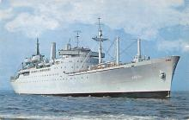 mil051900 - Military Battleship Postcard, Old Vintage Antique Military Ship Post Card